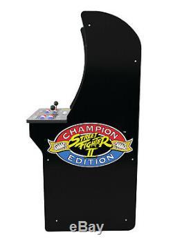 Street Fighter 2 Arcade1up Retro Accueil Classique Cabinet Machine 4ft 3 Jeux En 1