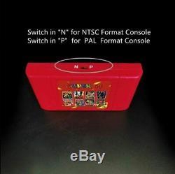 Super 64 Rétro Carte De Jeu 340 Dans 1 Cartouche Pour N64 Console De Jeux Vidéo Au Royaume-uni Vendeur
