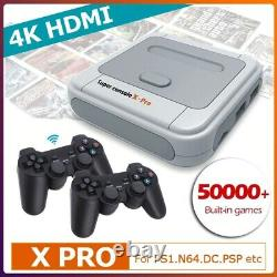 Super Console X Retro Mini Wifi 4k Hdmi Tv Console De Jeu Vidéo Pour Ps1/n64/dc Nouveau