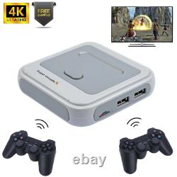 Super Console X Rétro Mini Wifi 4k Hdmi Tv Console De Jeux Vidéo Pour Ps1/n64/dc Hd