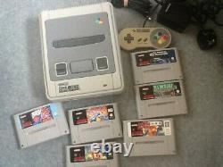 Super Nintendo Snes 6 Jeux Bundle Rétro