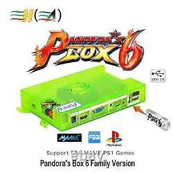 Tapdra 3a Conseil Box Original Pandora 6 Arcade Pleine Diy Kit, 1300 Retro Jeu