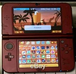 Top Ips Nouveau Nintendo 3ds XL Rouge Ultimate Nintendo Retro Système 4000+ Jeux