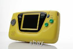 Toute Nouvelle Console De Jeux Retro Sega Yellow Nib Mint