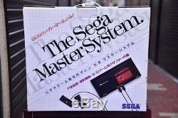 Très Rare Sega Master System Console 1987 Console Rétro Jeu De Collection Vintage