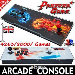 Uk Pandora's Box 8000 Or 4263 Jeux 2d/3d Classic Retro Hd Video Arcade Consoles