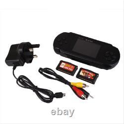 Us Stock Pxp3 Black Game Console Portable 16 Bit Retro Jeux Vidéo Cadeau