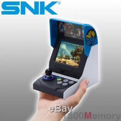 Véritable Neo Geo Snk Mini Console International Game Neogeo Retro Avec 40 Jeux