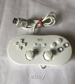 White Nintendo Wii Bundle 200+ Jeux Voir Desc Gamecube N64 Nes Retro Game Boy