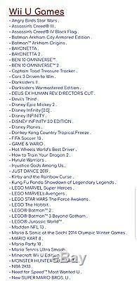 Wii U Haxchi 1 To De Disque Dur. Chargé Avec Des Jeux! Plays Wii, Gamecube, Retro